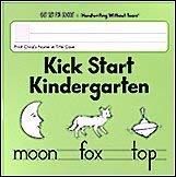 Kick Start Kindergarten Handwriting Without Tears