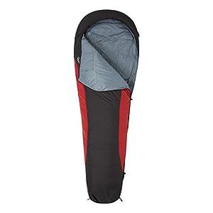 Mountain Warehouse Extreme Down Sleeping Bag -Mummy Shape Camping Bag Red