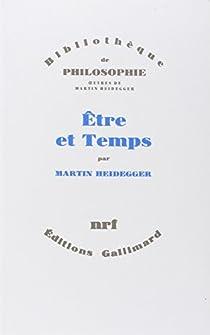 Être et Temps par Heidegger