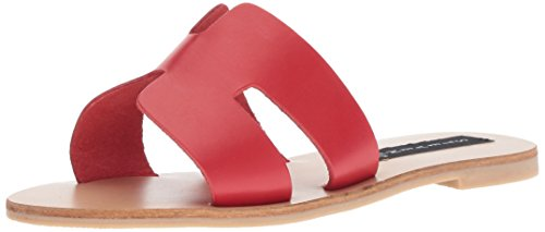 Greece Leather Women's by Madden STEVEN Steve Red aOtInYWwq