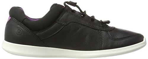 schwarz Ecco Black Damen Schwarz Sneaker Sense UqtqnO