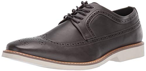 Unlisted by Kenneth Cole Men's Jeston Lace Up B Oxford Grey 11 M US