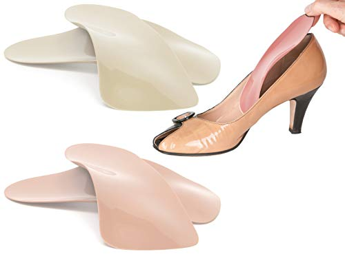 Travel Feet Balance Lady Soft Arch Supports Orthotic Inserts just for Women's Shoes, Boots and Sandals - Peach Wear