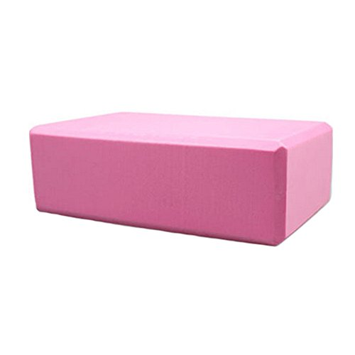 High Density Yoga Block Non-slip Blocks Bricks Yoga Mat Accessory Sports - Pink by Kylin Express