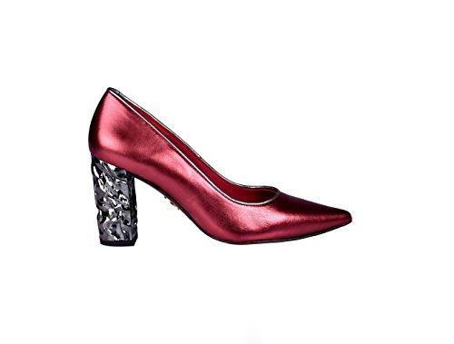 Exclusiva 38 para Gel Colección De Salón Tallas Annette Burdeos de en MILAN ANNA España 40 Plantilla Zapatos Mujer Fabricado TqSnxBI7R