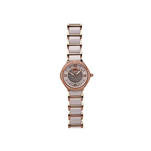 Charmex Rodeo Drive 6285 34mm Multicolor Steel Bracelet & Case Synthetic Sapphire Women's Watch