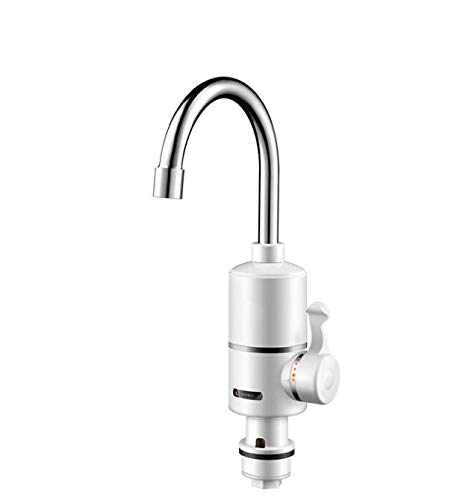 CAIHONG Home kitchen electric faucet fast heat can be equipped with shower leaking kitchen faucet