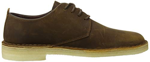 Stringate beeswax Desert Scarpe Marrone Uomo Clarks Leather London Ofq6tCCw