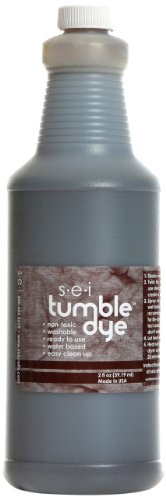 Sew Easy Industries Tumble-Dye Bottle, 1-Quart, Sports Brown by Sew Easy Industries