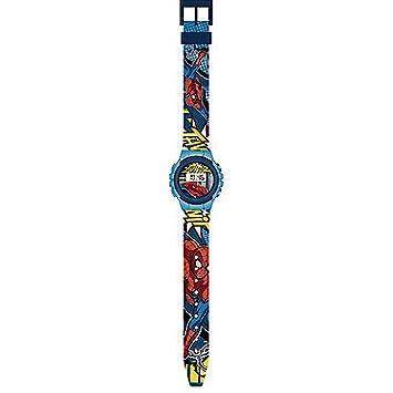 Kids Licensing MV92215, reloj digital Spiderman.: Amazon.es: Juguetes y juegos