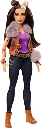 Zombies Disney's 2, Wynter Barkowitz Werewolf Doll (~11.5-inch) Wearing Rocker Outfit and Accessories, 11 Bend