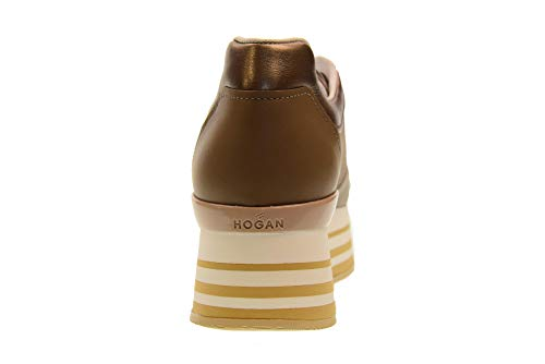 Vase Hogan avec Femme H283 HXW2830AK80JF90KQ4 Baskets Chaussures Basses Plateforme 11Paw