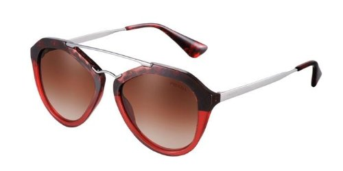 Gafas de Sol Prada PR 12QS CINEMA HAVANA BROWN GRADIENT RED ...