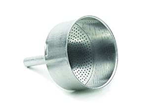 Bialetti - Aluminium Replacement Funnel for Moka Express Espresso Coffee Maker - Various Sizes from Bialetti