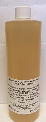 Polysorbate 80-Cosmetic Grade-16 oz (Polysorbate 80 Hair)