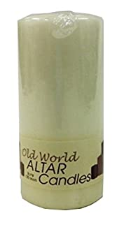 Biedermann & Sons Old World Cathedral 5-Inch Tall Candle Pillar, Ivory Biedrmann & Sons C-25