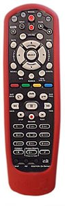 DISH Network Remote Rubber Skin Cover RED for 40.0
