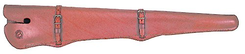 Scabbard Rifle Saddle (Colorado Saddlery The Leather Lock Scabbard, Right Hand, 24-26-Inch)