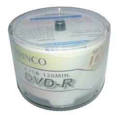600 Princo 8X DVD-R 4.7GB White Inkjet