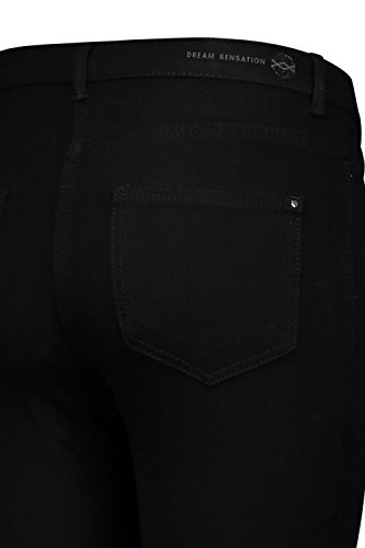 Sensation Donna Skinny Jeans MAC D999 black Black HqBSpn