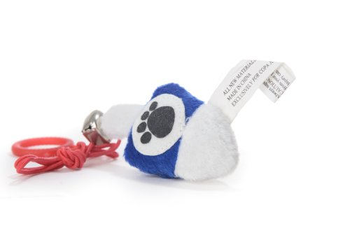 Copa Judaica Chewish Treat Dreidel Plush Cat Toy, 3 by 0.5 by 1.5-Inch, Blue and White ()