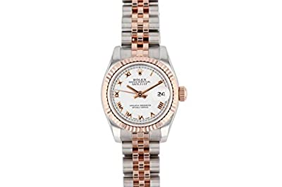 Rolex Datejust Swiss-Automatic Female Watch 179171 (Certified Pre-Owned) from Rolex