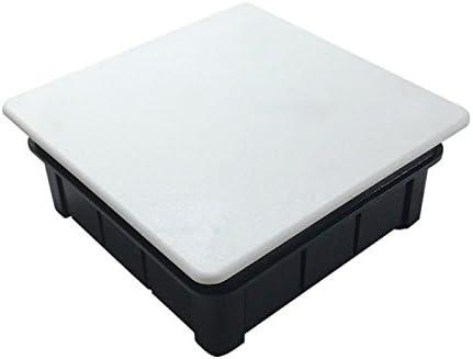 Solera 620 - Caja 200x200x65 tapa blanco con garra metálica: Amazon.es: Bricolaje y herramientas