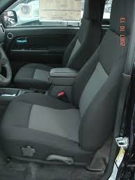 Silverado Chevy Seat Covers For - Durafit Seat Covers C1123-X1-H7-2007-2013 Chevy Silverado, Tahoe and GMC Sierra Front Bucket Seat Covers in Black Endura with Gray Airtex Inserts.