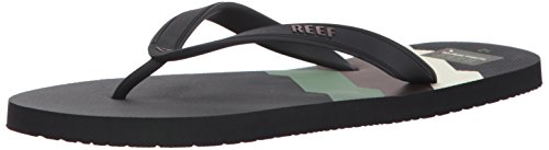 Reef Switchfoot Prints 70s Black Lines, Chanclas para Hombre Multicolor (70s Black Lines)