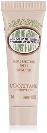 LOccitane en Provence Almond Velvet Hand Cream with SPF 15