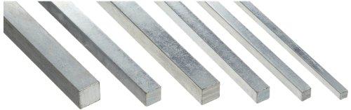 Keyway Key (Steel Key Stock Assortment, Zinc Plated, Oversized Tolerance, 12