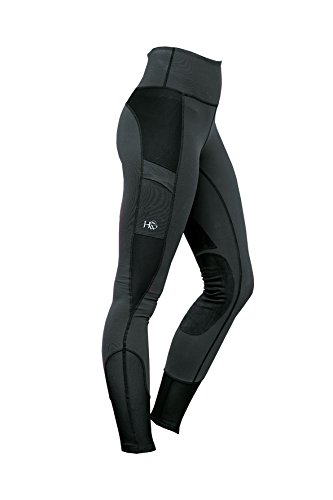 Horseware Ladies Riding Tights XX-Large Charcoal