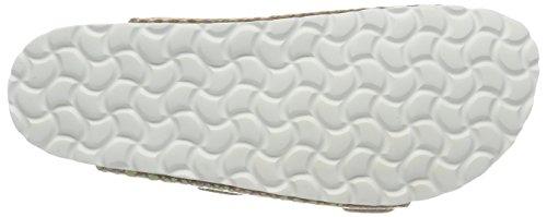 Lico Damen Natural Snake Soft Niedrige Hausschuhe Beige (Beige)