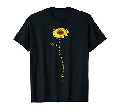 You Are My Sunshine Hippie Sunflower Tshirt Gifts For Women
