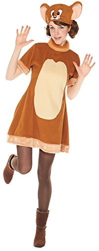 Tom and Jerry Costume - Jerry Costume - Women's Standard Size]()
