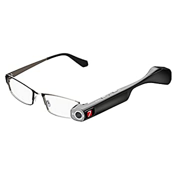 Image of 7 TheiaPro App Enabled Eyeglasses Camera(Black) Sports & Action Video Cameras