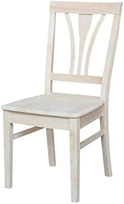 International Concepts C 918P Pair Of FanBack Chairs, Unfinished