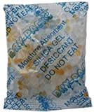 "Moisture Indicating Silica Gel Moisture Absorbers (Desiccant) - 3 1/2"" X 2 1/2"" - 33 Gram - 15 Packets of Silica Gel"