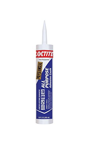 Henkel-Loctite 2154740 18 Pack 10 oz. Polyseamseal All Purpose Adhesive Caulk, Clear by Loctite