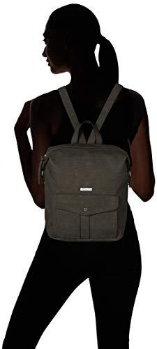 001 pour Noir dos Black bretelles port main à à Adriana à en Sac sac Tamaris wqxSAY76P