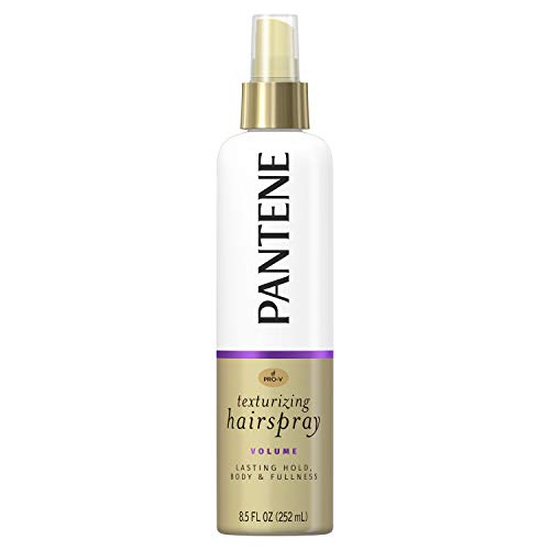 - Pantene Pro-V Volume Touchable Non-Aerosol texturizing Hairspray 8.5 Fl Oz (Pack of 3)(Packaging May Vary)