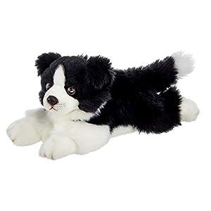 Bearington Shep Plush Border Collie Suffed Animal Puppy Dog, 13 Inches 1