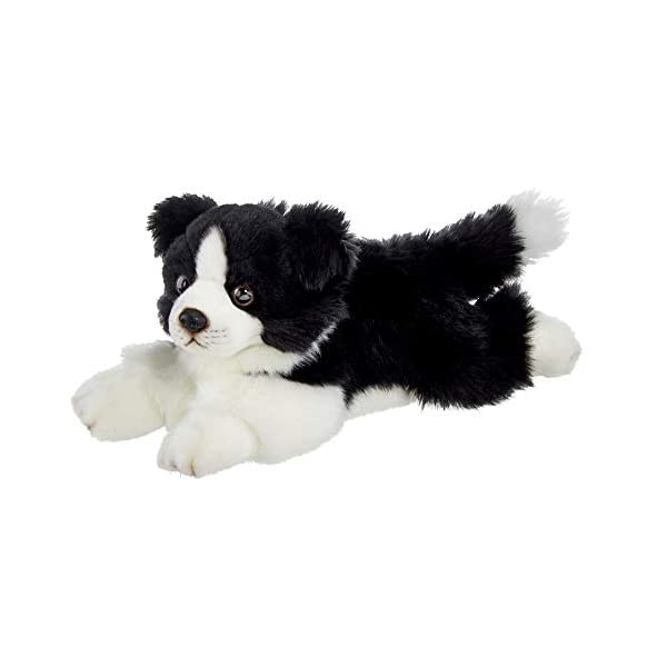 Bearington Shep Plush Border Collie Suffed Animal Puppy Dog, 13 Inches 1