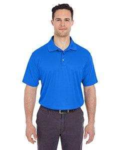 UltraClub Men's Cool & Dry Mesh Piqué Polo (8210), Royal, 2X-Large ()