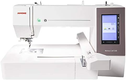 Janome Memory Craft MC 550E - Máquina de Coser: Amazon.es ...