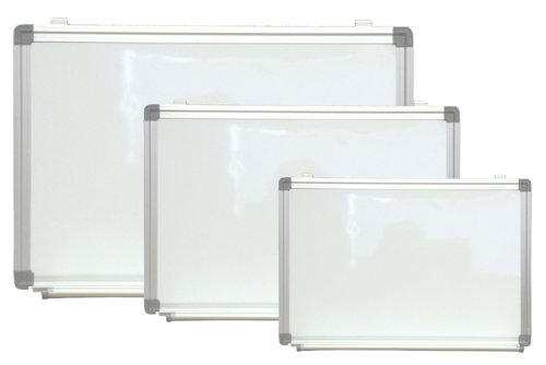 NEOPlex Extra Large 48'' x 60'' Aluminum Framed Magnetic Dry Erase White Board by NEOPlex