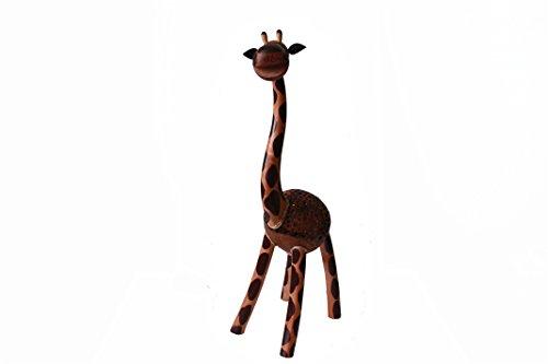 Coconut Shell Lamp – Giraffe Lamp 20 Height – Wooden Crafts Handmade
