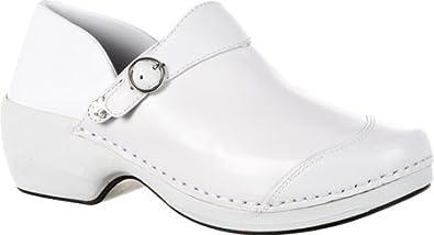 ROCKY 4EURSOLE RKH0 WHITE WOMENS CLOGS Size 36M