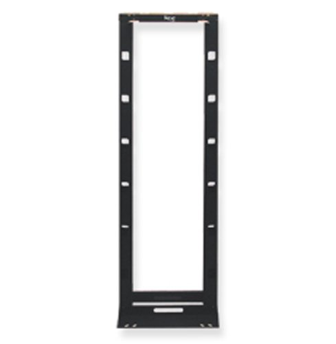 ICC CABLE MNGMENT RACK, HYBRID, BLACK, 7ft