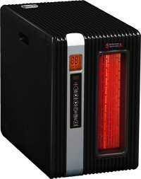GreenTech Environmental pureHeat 2-in-1 Heater and Air Purifier with Remote and Timer